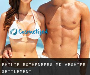 Philip ROTHENBERG MD. Abshier Settlement